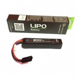 WE Lipo 11.1V 1100mAh 20C Stick