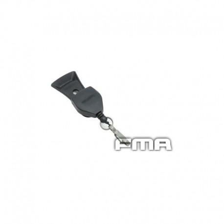 FMA NVG Lanyard for Core VAS Three Hole Shroud Black