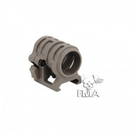 FMA 0.830'Ring Mount for Flashlight DE