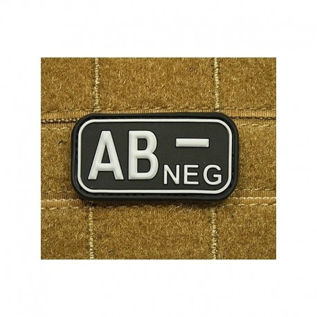 JTG Bloodtype AB neg Rubber Patch swat
