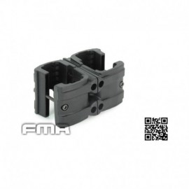 FMA MP7 Double clip Black