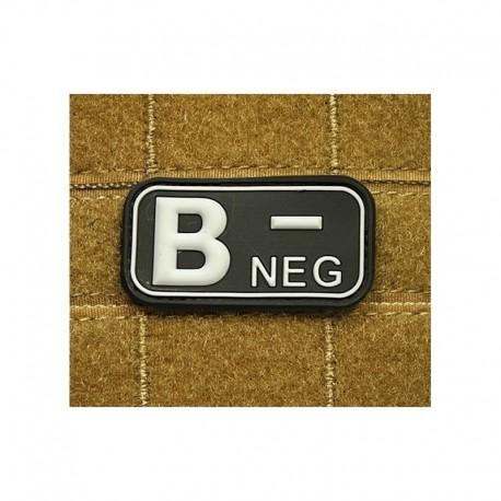 JTG Bloodtype B neg Rubber Patch swat