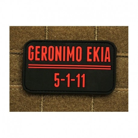 JTG Geronimo EKIA Rubber Patch