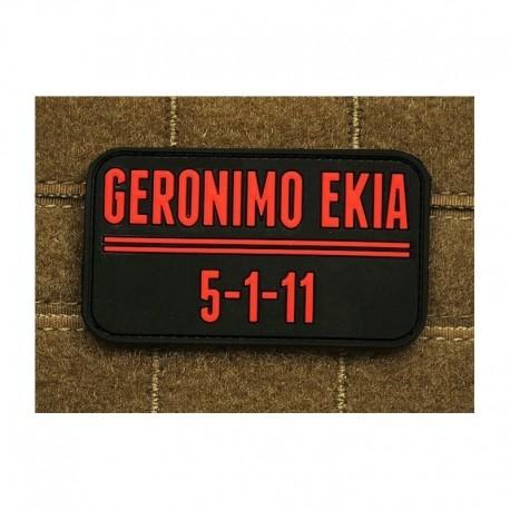 JTG Geronimo EKIA Rubber Patch
