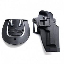 TANGO Tactical Fondina rigida tipo Serpa per PT92 / M9 / M92 Nera