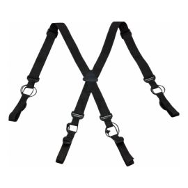 Invader Low Drag Suspenders Black