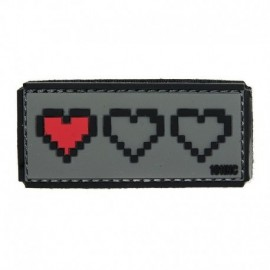 101 INC Last Life Grey Rubber Patch