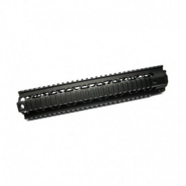 """Dytac Invader Rail 12"""" Floating RAS Black"""