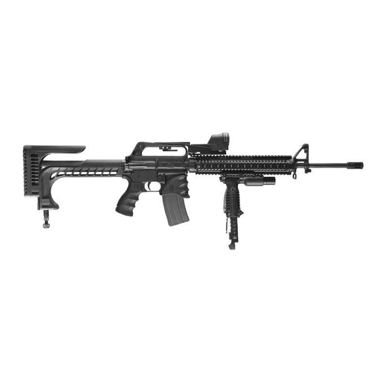 wii ssr-25 sniper stock style bk