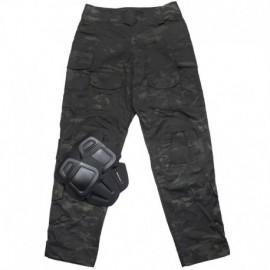 TMC 3G CP Combat Pants Multi Camo Black