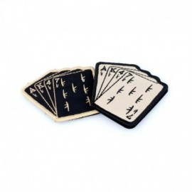 TMC POKER AK47 Velcro Patch Black