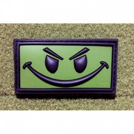 JTG Evil Smiley Rubber Patch OD