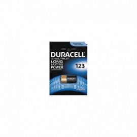 Duracell CR123 Lithium DURALOCK 3V Made in USA