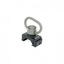 FMA Sling Swivel and mount DD style QD for rail RIS/RAS Black