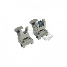 FMA 71L F/R Folding Sight Set DE