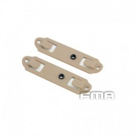 FMA WeaponLink Backplane MOLLE Adapter DE