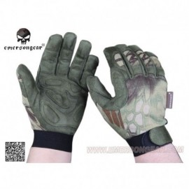 EMERSON Tactical Lightweight Camouflage Gloves Mandrake