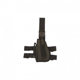 MFH Left Handed Leg Holster OD Green