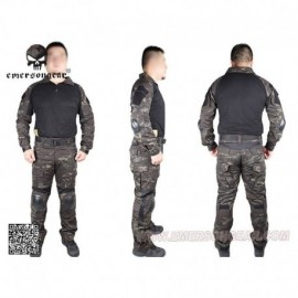 EMERSON NEW Combat Tactical Suit 2°Gen. Multicam Black