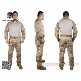 EMERSON NEW Combat Tactical Suit 2°Gen. Multicam Arid