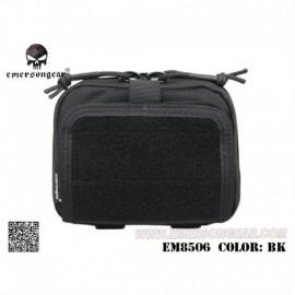 EMERSON ADMIN Multi-purpose Map Pouch Black