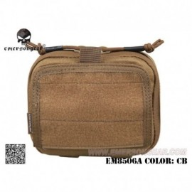 EMERSON ADMIN Multi-purpose Map Pouch CB
