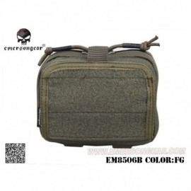 EMERSON ADMIN Multi-purpose Map Pouch FG